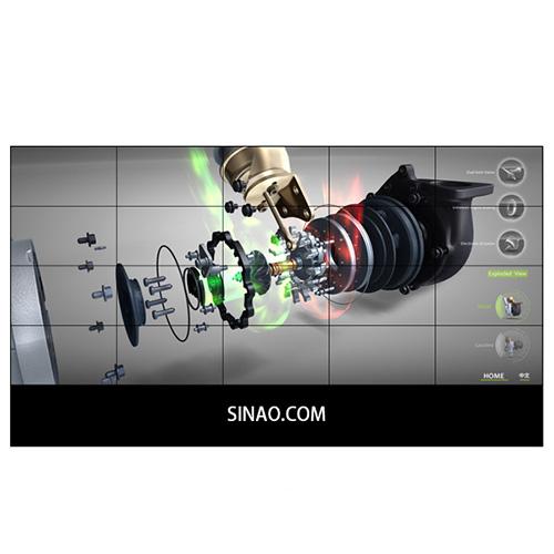 55寸液晶拼接屏PZ-55DID-35-5×4-广州磐众智能科技有限公司