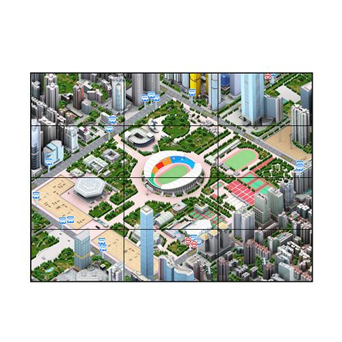 46寸液晶拼接屏PZ-46DID-35-3×4-广州磐众智能科技有限公司
