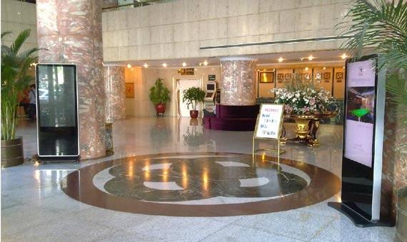 酒店触摸展示方案-广州磐众智能科技有限公司