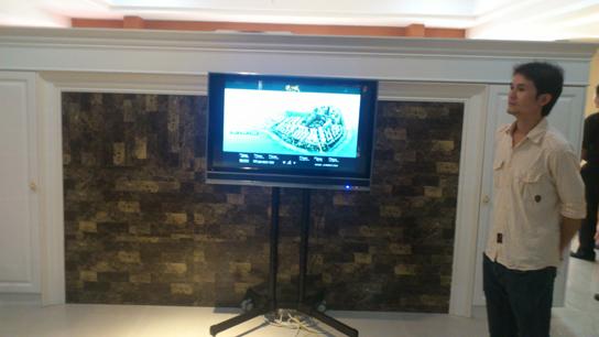 环保型铝合金壁挂触摸机-广州磐众智能科技有限公司