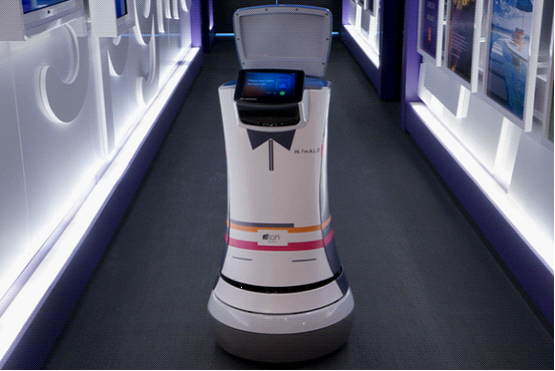 住店如穿越 看看未来酒店的先进技术体验-广州磐众智能科技有限公司