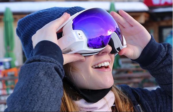 RideOn智能护目镜:滑雪时和你虚拟互动-广州磐众智能科技有限公司