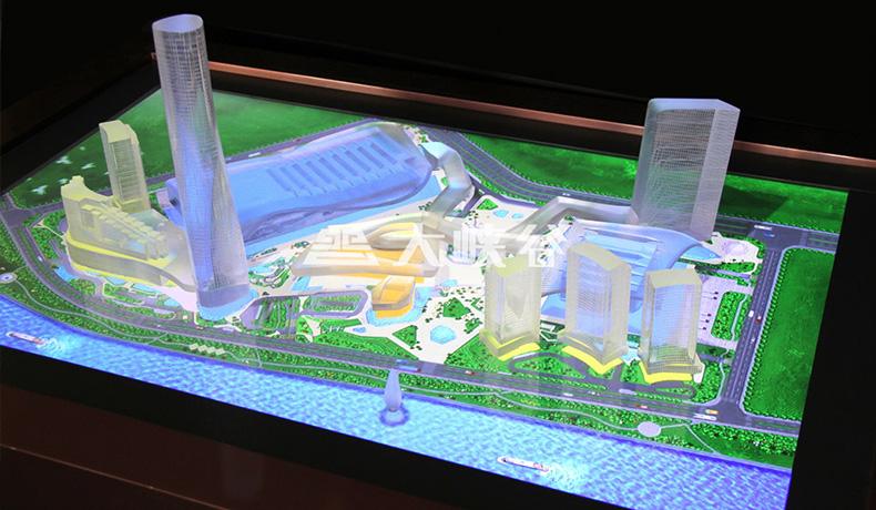 楼房触摸展示方案-广州磐众智能科技有限公司
