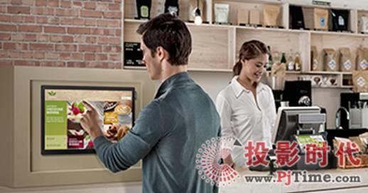 三星美国发布小尺寸触摸屏数字标牌-广州磐众智能科技有限公司