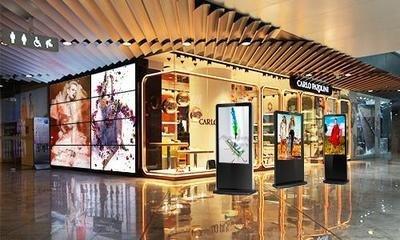 触摸屏应用让商场实现完美蜕变-广州磐众智能科技有限公司