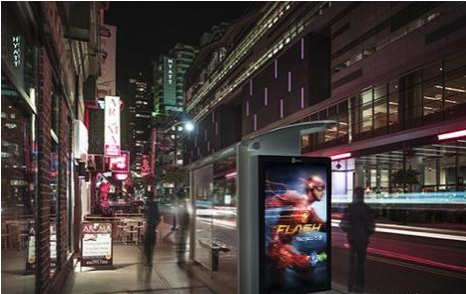 多伦多全城公交站数字标牌-广州磐众智能科技有限公司
