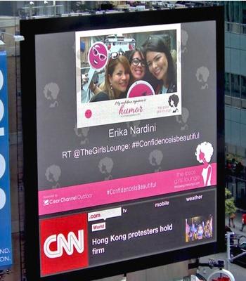 纽约广告周现数字标牌社交互动应用-广州磐众智能科技有限公司