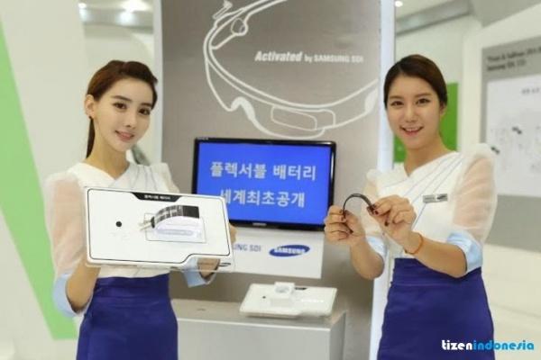 三星展示第二代柔性电池:能卷曲-广州磐众智能科技有限公司