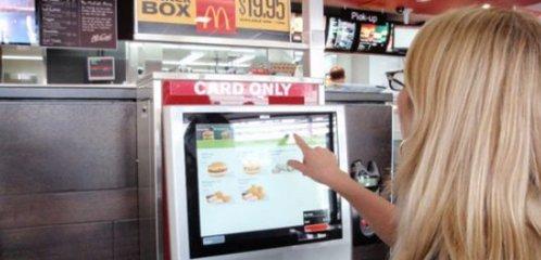 悉尼麦当劳测试自助定制点餐机-广州磐众智能科技有限公司