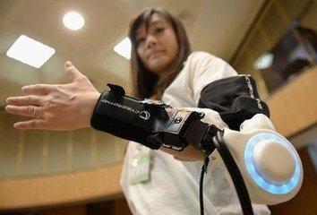 日本机器人制造商展出意念操控装备-广州磐众智能科技有限公司