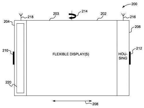 苹果注册柔性屏幕专利,可掰弯屏幕执行操作-广州磐众智能科技有限公司