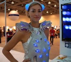 英特尔3D打印智能服装 支持心灵感应控制-广州磐众智能科技有限公司