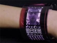 首款柔性AMOLED显示屏-广州磐众智能科技有限公司