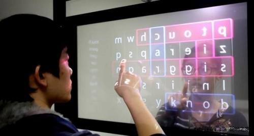 双面透明触控屏,未来新科技蓝本-广州磐众智能科技有限公司