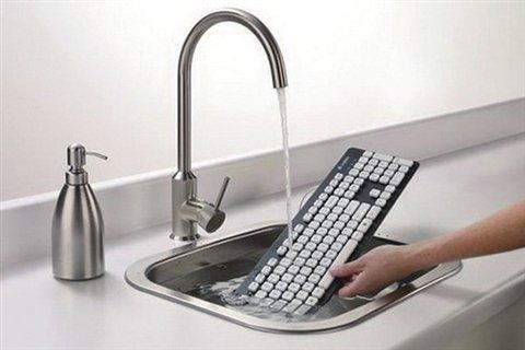 可以直接水洗的电脑键盘-广州磐众智能科技有限公司