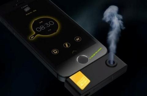 新式iPhone闹钟 用气味叫醒你-广州磐众智能科技有限公司