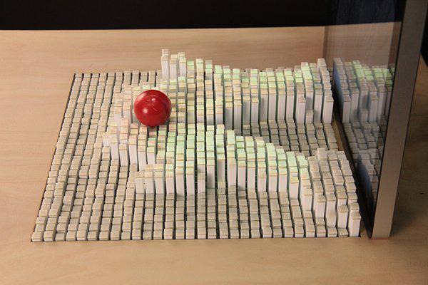 神奇动态模型显示器 可做游戏控制器--广州磐众智能科技有限公司
