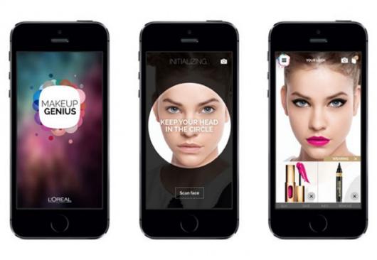 """""""互动镜子""""为你打造虚拟化妆--广州磐众智能科技有限公司"""