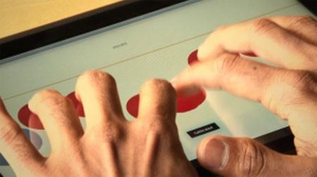帮助盲人使用电脑的新技术--触摸屏一体机--广州磐众智能科技有限公司