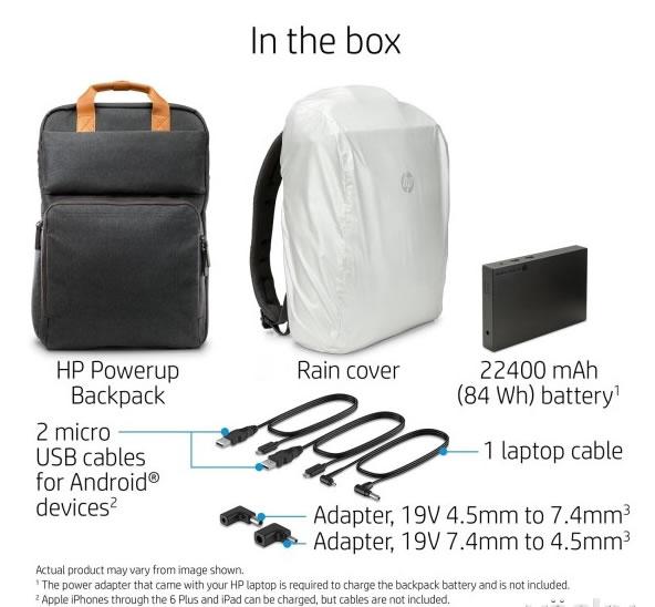 商务旅行神器:惠普可充电背包--广州磐众智能科技有限公司