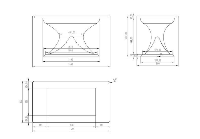 42寸互动桌面演示台/触摸桌/触摸台--广州磐众智能科技有限公司