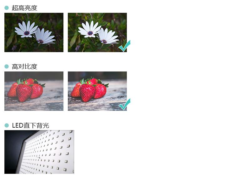 超高亮度 高对比度 LED直下背光-广州磐众智能科技有限公司