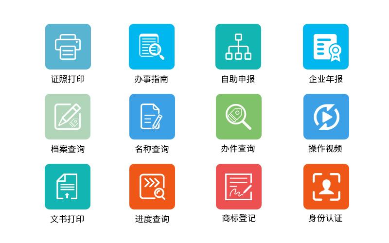 A3证照自助申报打印一体机业务功能-广州磐众智能科技有限公司