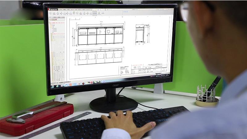 钣金设计-工艺设计图-广州磐众智能科技有限公司